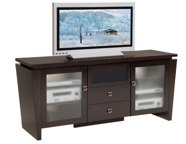 "70"" Classic Modern Console with Tapered Legs"