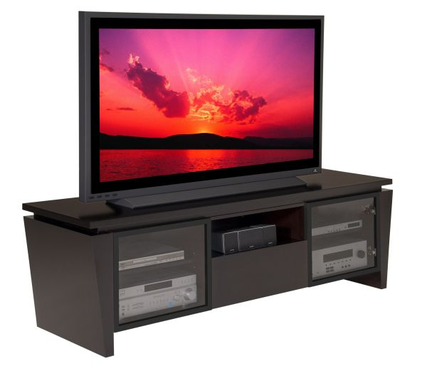 """75"""" Classic Modern Console with Tapered Legs"""