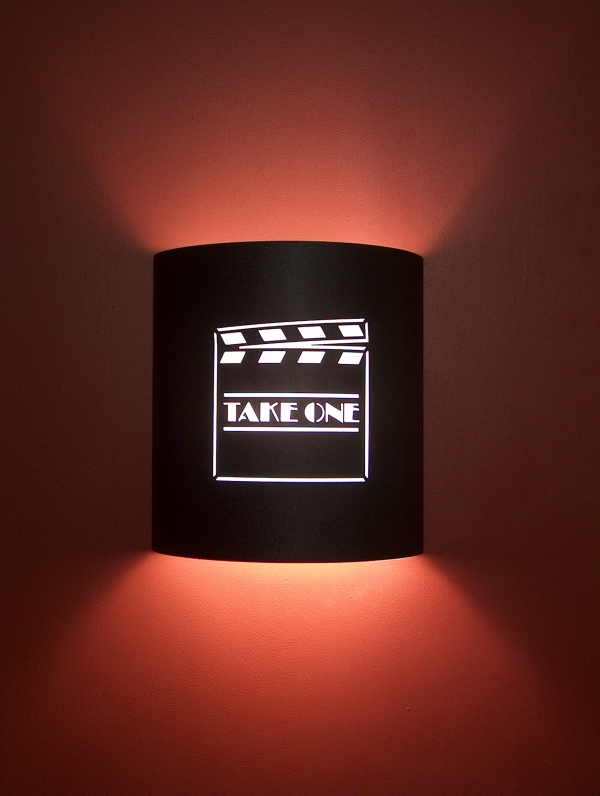 """Take One"" Clapboard Theater Sconce"