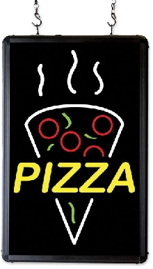 """Pizza""  Ultra-Bright LED Sign"