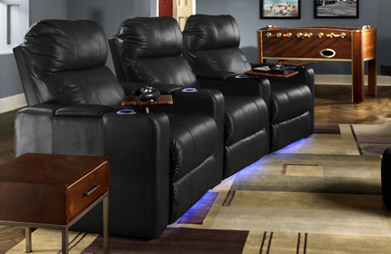 Delicieux Seatcraft Venetian Home Theater Seating
