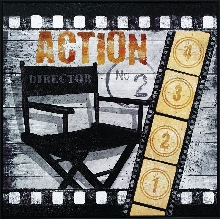 """Action!"" Picture Theater Wall Art"