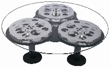 "Triple 48""  Film Reel Coffee Table"