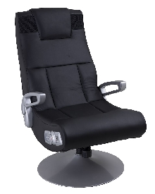 X-Pedestal Swivel Wireless Gaming Chair