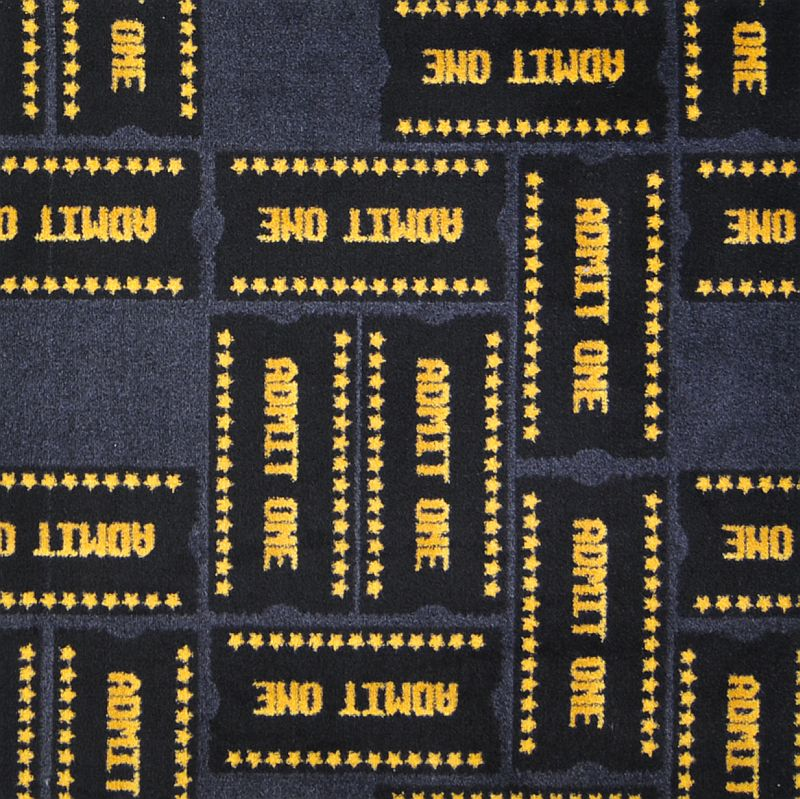 Admit One Theater Carpet