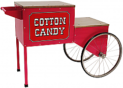 Cart for Cotton Candy Machine