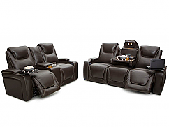 Seatcraft Vienna Multimedia Sofa & Loveseat