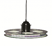 "Paramount Limited Edition Movie Reel Theater 18.5"" Pendant LED Light Fixture"