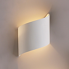 """5"""" Contemporary Cylinder Ribbon Wall Sconce"""