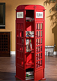 SEI Phone Booth Media Cabinet