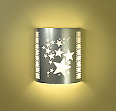 Stars Silver Theater Sconce (with filmstrip)