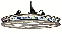 "Paramount Limited Edition Movie Reel Theater 32"" Pendant LED Light Fixture"