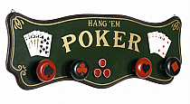 Poker Coat Rack