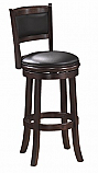 Backed Barstool with Swivel