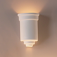 """7"""" Embellished Jar Classic Wall Sconce"""