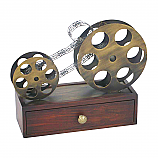 Movie Reel  to Reel Display Box