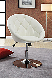 Coaster Swivel Chair in White