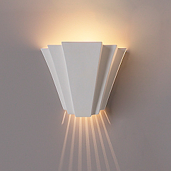 "14"" Landmark Geometric Wall Sconce"