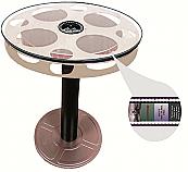 "Paramount Limited Edition Film 24"" Aluminium Reel End Table"