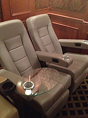 Set of Two Classic Star Power Recliners