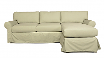 SOFAB LUCY Style Sofa Sectional with Chaise