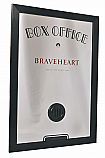 "Paramount Limited Edition Braveheart Box Office Mirror with Classic 2"" Frame"
