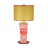 Movie Popcorn Snack Table Lamp