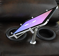 Tablet/iPad Holder for Theater Seats