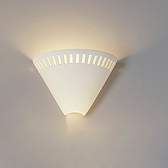 """10.5"""" Fancy Funnel Contemporary Wall Sconce"""