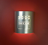 """""""Take One"""" Clapboard Silver Theater Sconce (without filmstrips)"""