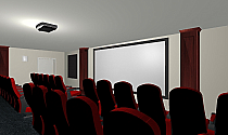 2D and 3D Theater Design Services