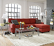 SOFAB FAITH Style Sofa with Chaise Quick Ship