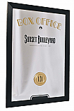 """Paramount Limited Edition Sunset Boulevard Box Office Mirror with Classic 2"""" Frame"""