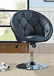 Coaster Swivel Chair in Black
