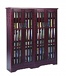 Overstock Sale Large Mission Storage Cabinet in Cherry