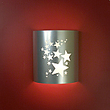 Stars Silver Theater Sconce (without filmstrip)