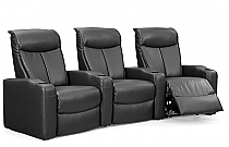 Estella Home Theater Seating in Black