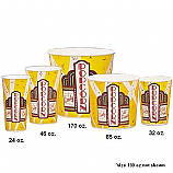Marquee Popcorn Tub 130 0z (150 Count)
