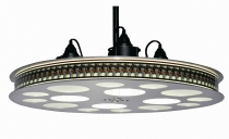 New! Movie Reel Theater Hanging Light Fixture 70MM