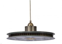 Movie Reel Theater Pendant Light Fixture