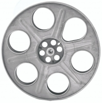 "14"" Steel Theater Steel Shipping Reel"