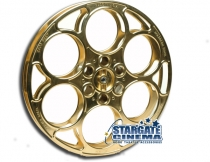 Genuine 35mm Gold Plated Film Reel