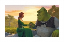 Shrek and Fiona Sunset