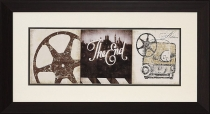 """The End"" Framed Theater Wall Art"