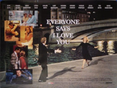"EVERYONE SAYS I LOVE YOU (BRITISH QUAD) Movie Poster 30""x40"""