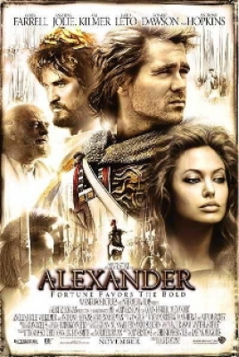 movie poster for alexander angelina jolie