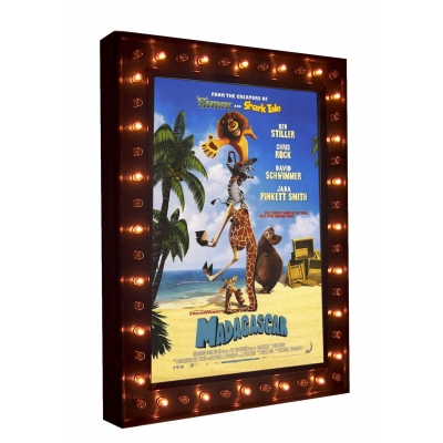 NEW! Illuminated Marquee Poster Case with Chase Lights