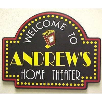 Personalized Movie Marquee Sign