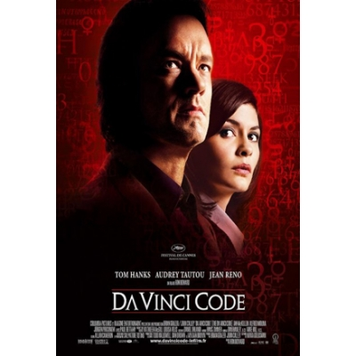 The Da Vinci Code - Regular - Style a (Petit - French - Rolled) Movie Poster
