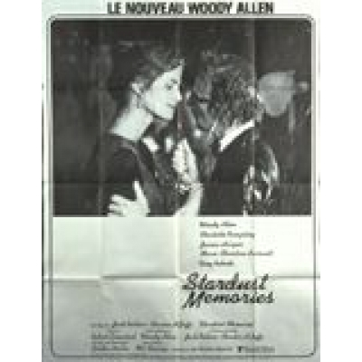 Stardust Memories (French) Movie Poster